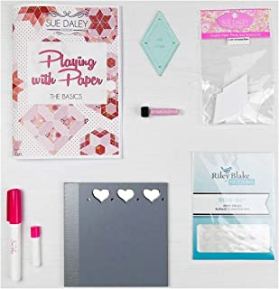 Sue Daley Designs Fussy Cutters iHEA Pack epp English Paper Piecing Starter kit Patchwork Sewing