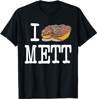 I love Mett T-Shirt - Mettbröchten Fun Shirt - Fleisch
