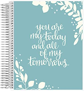 Erin Condren Undated 12-Month Wedding Planner - Today, Tomorrow and Forever, Includes Blank Calendar, Pre-Determined to-Do... photo