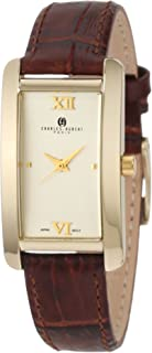 Charles-Hubert, Paris Women's 6670-G Classic Collection Gold-Plated Watch