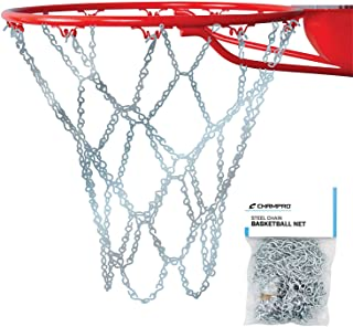 Champro Basketball Net, Steel Chain (Silver, 21-Inch)
