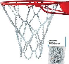 Champro Basketball Net, Steel Chain (Silver, 21-Inch)