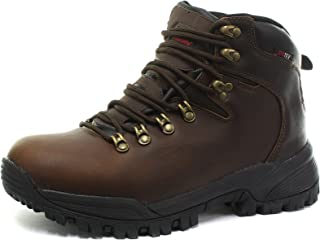 066b5bc3f7e Johnscliffe Johnsliffe Brown Unisex Waterproof Hiking Walking Ankle Boots