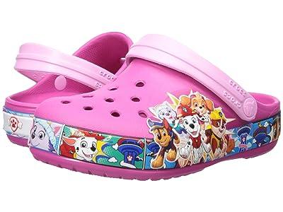 Crocs Kids Fun Lab Paw Patroltm Band Clog (Toddler/Little Kid) (Fuchsia) Girls Shoes