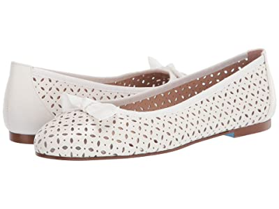 French Sole Tessa (White Leather) Women