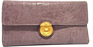 Marc by Marc Jacobs Marc Y Marc Leather Long TRIFOLD WALLET