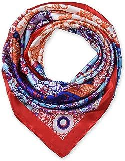 Large Square Satin Silk Like Lightweight Scarfs Hair Sleeping Wraps for Women
