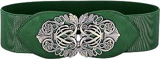 Belle Accessories GRACE KARIN Women's Elastic Stretch Wide Vintage Waist Belt