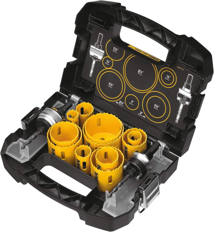 DEWALT D180005 Hole Saw kit, 14-piece