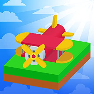 Swipe Plane - Best Free Air Planes Game For Kids: Merge Cells