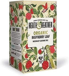 (2 Pack) - Heath And Heather - Organic Raspberry Leaf Tea | 20 Bag | 2 PACK BUNDLE