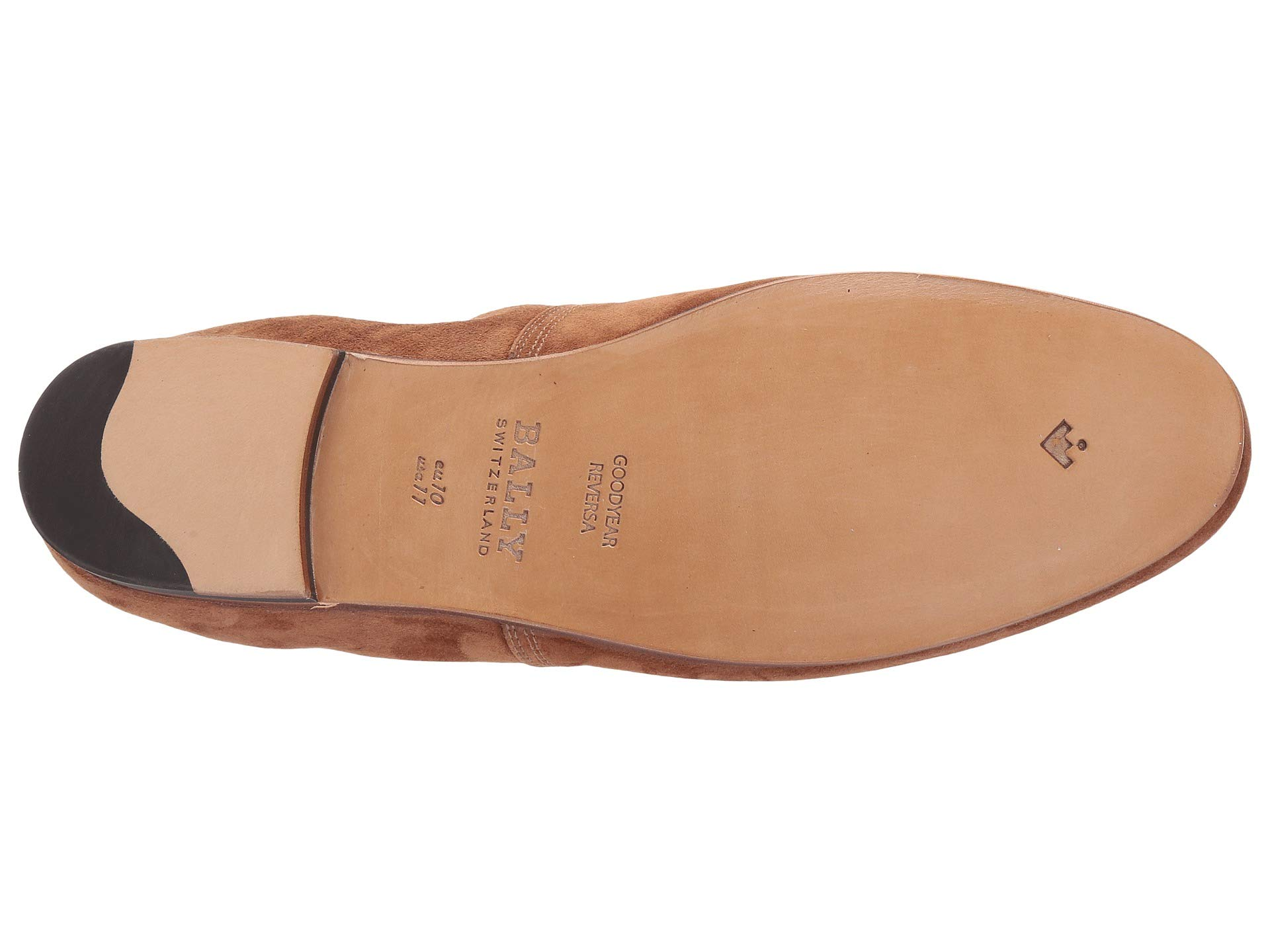 Bally Collapsible Suede Loafer Plank At wvN0m8nO