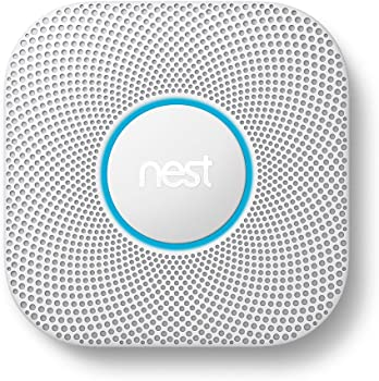 Google Nest Protect Battery (or Wired) Smoke + Carbon Monoxide Alarm