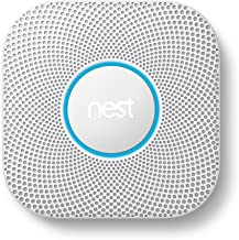 Google, S3000BWES, Nest Protect Smoke + Carbon Monoxide Alarm, 2nd Gen, Battery