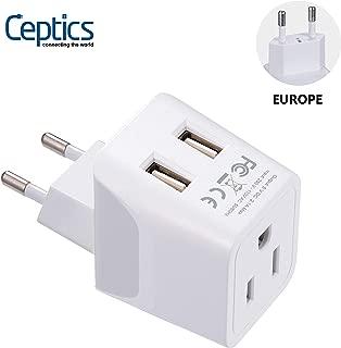 Best europlug type c & f Reviews