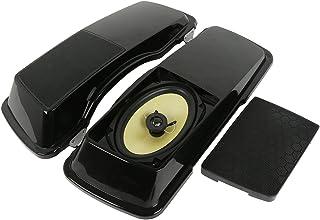 "XFMT 6""x 9"" Motorcycle Saddlebag Lid W/Speakers For Harley Electra Street Road Glide FL 1994-2013"