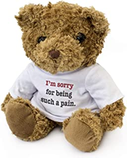 I'm Sorry for Being Such A Pain - Teddy Bear - Cute Soft Cuddly - Gift Present Apology