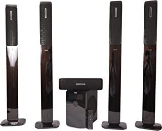 Impex - 5.1 Channel Home Theater Sound Bar Music System, 75 Watts ( 5X15W), 50 Watts Subwoofer, High Bass, HT-5105
