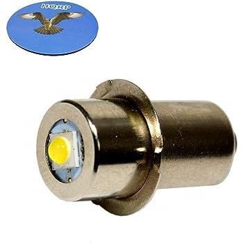 2x 14.4V BULBS FOR MAKITA BOSCH HITACHI DEWALT FLASHLIGHT Xenon Bulb