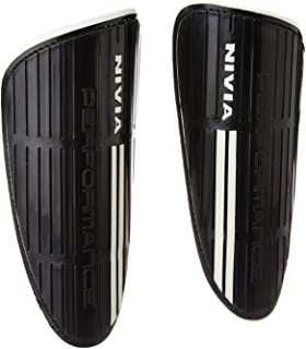 Nivia SG-806 Performance Football Shin Guard Black, Medium