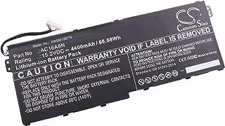 vhbw Li-Ion batería 4400mAh (15.2V) Negro para Ordenador Laptop Notebook Acer Aspire V17 Nitro, V17 Nitro BE, VN7-791G-792A, VN7-792G, VN7-792G-74Q4