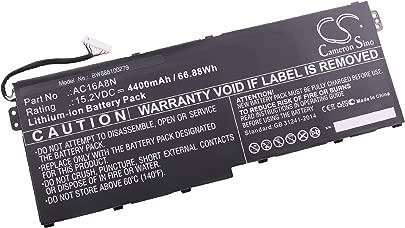vhbw Li-Ion Akku 4400mAh  15 2V  schwarz f r Laptop  Notebook Acer Aspire V17 Nitro  V17 Nitro BE  VN7-791G-792A  VN7-792G  VN7-792G-74Q4