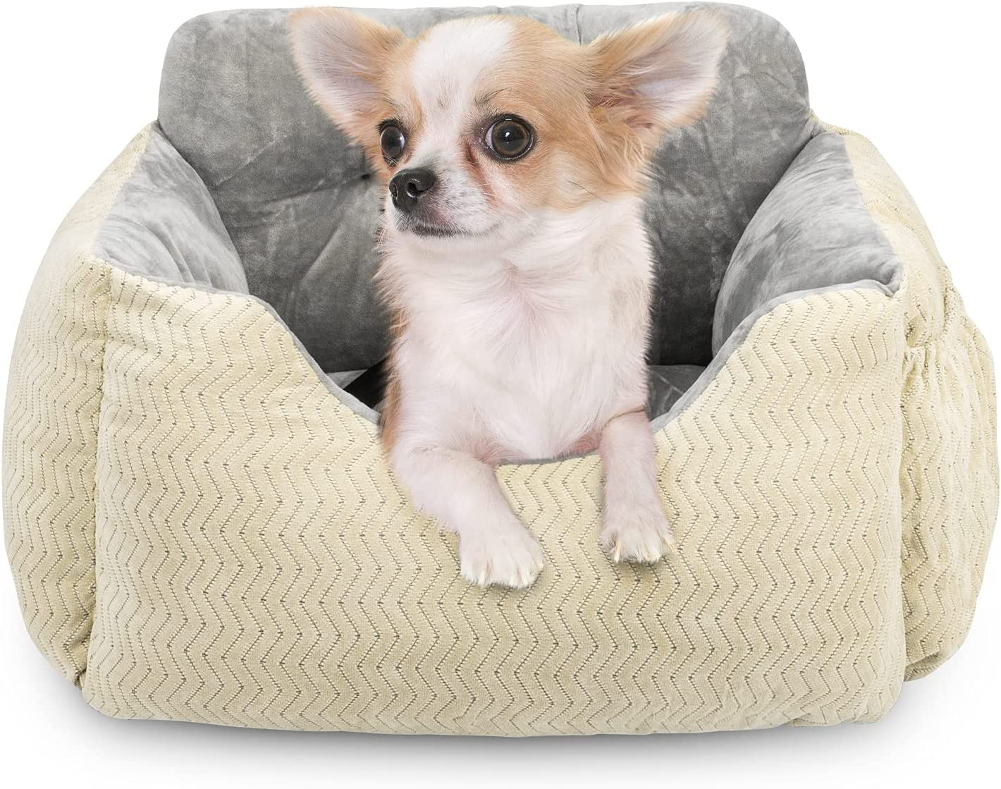 AIPERRO Dog Daily bargain sale Car Seat Soft Pet Pup Medium for Booster Dogs Small Ranking TOP10