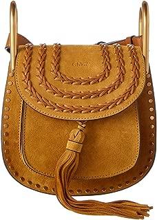 Chloe Braided Mini Hudson 3S1220-H67 Mustard Brown Shoulder Bag