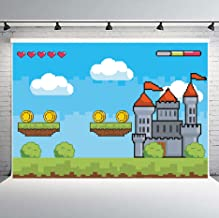 mario castle background