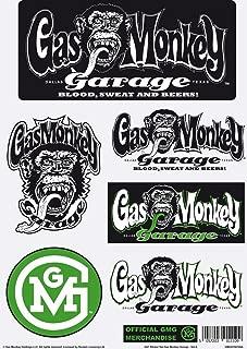 Gas Monkey Sticker Set