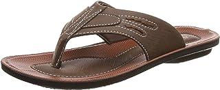 Bata Indian Shoe's Weapon Brown Flip-Flops-5 Kids UK/India (23 EU) (4714159)