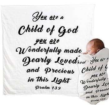 KEDRIAN Baptism Baby Swaddle Baptism Gifts for Baby Girl Baptism Gifts for Boys Godchild Gifts for Baptism Baptism Gifts for Girl or Boy Baby Swaddle Blanket Baby Baptism Gift Baby Baptism Gift