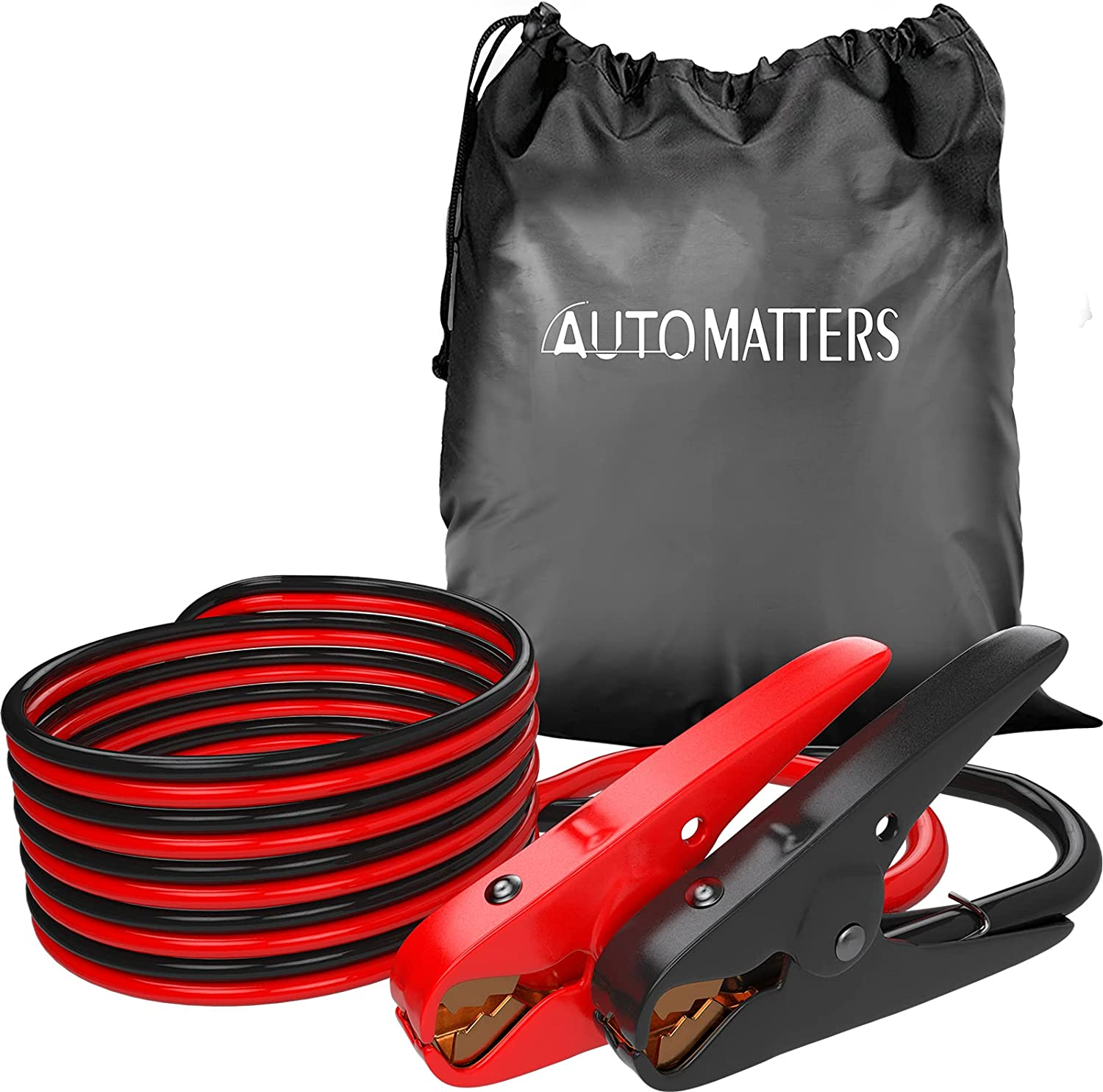 Jumper Cables 2 Gauge Our shop OFFers the best service 16 Feet Duty Ca Manufacturer OFFicial shop Booster Automatters Heavy