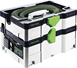 Festool 575280 CT SYS Mobile Dust Extractor w/ 500642 Longlife Filter Bag for CT-SYS + 500438 CT-SYS SELFCLEAN Filter Bags (5-pack)