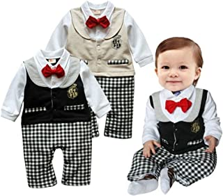 LLF Best Baby Romper Gentleman 3-24m Baby Clothing Baby Clothes Baby Cosplay Baby Costume