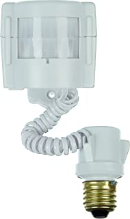 Xodus Innovations HS3110D Motion Activated Indoor/ Outdoor Light Adapter up to 150 Watts with Adjustable