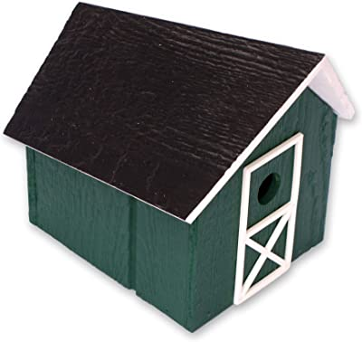 Amazon.com: Birdhouse – Log Cabin Casa para pájaros W ...