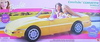 Barbie Cruisin' Corvette Vehicle YELLOW Convertible Car (2001)