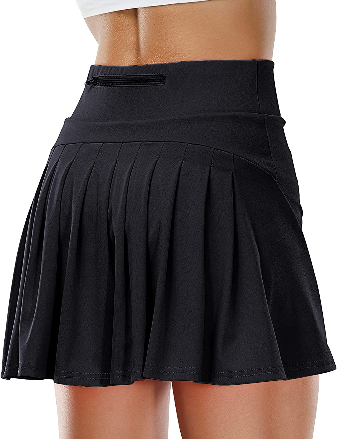 Time sale Hertiiy Pleated Tennis Skirts for Golf Women Pockets with Cheap sale Skorts