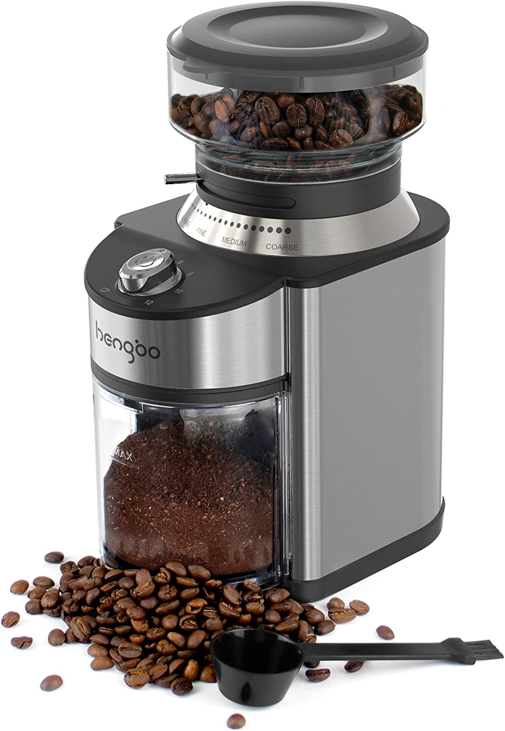 Burr Coffee Brand new Grinder Hengbo Adjustable Mil Electric Conical specialty shop