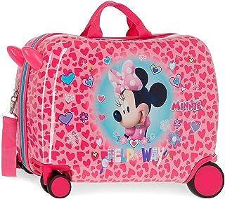 Disney Minnie Help on The Day Maleta Infantil Rosa 50x38x20 cms Rígida ABS Cierre combinación 34L 2,1Kgs 4 Ruedas Equipaje...