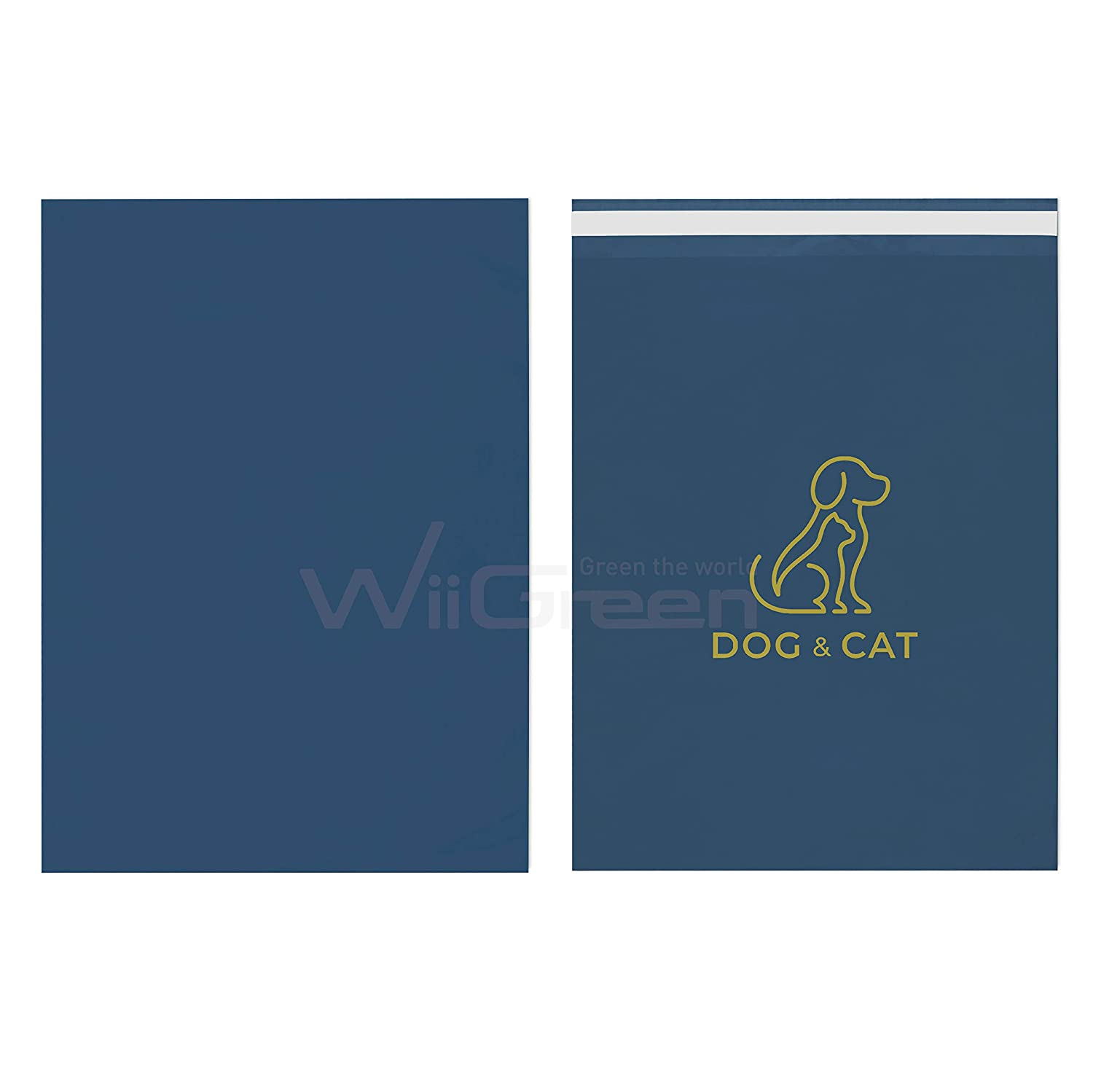 WiiGreen 500 PCS Dog Cat Mailers New products, world's highest quality popular! En Poly New life Shipping 10x13x2.5MIL