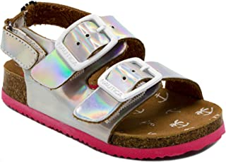 4b014ca3f5e5 Nautica Kids Grant Toddler Open Toe Sandal 2 Buckle Straps Comfort Slide  Outdoor Back Strap Casual