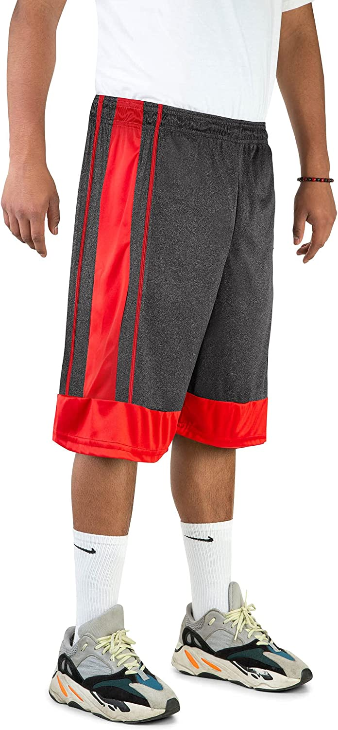 North 15 Men's Athletic Basketball with Lightweight Shorts Side Popular Award-winning store brand