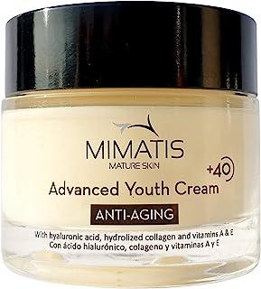comprar comparacion Crema Facial Para Mujer Piel Madura +40-Hidratante-Antiarrugas-Lifting Natural-Piel Luminosa,Firme y Tersa-Ácido Hialuróni...