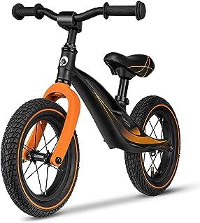 Lionelo Skägghjul från 2 år till 30 kg magnesiumram 30 cm hjul ratt och sadel höjdjusterbart rattlås fotstöd handtag ultra...