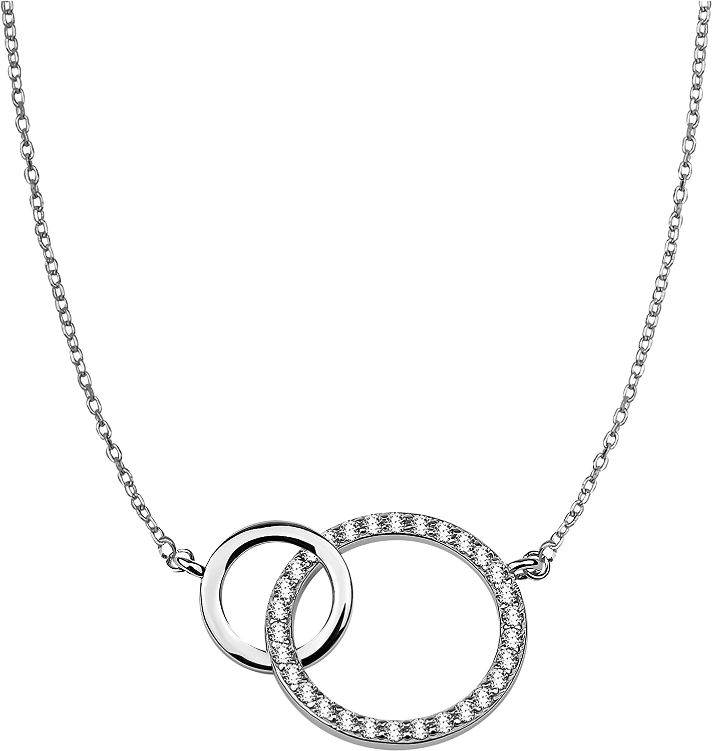 Sofia Milani - Women's Necklace Outlet SALE 925 Silver Wholesale Stone with Zirconia