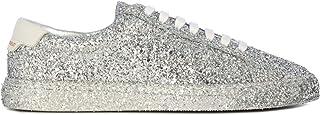 SAINT LAURENT Luxury Fashion Womens 5900271G0208194 Silver Sneakers | Fall Winter 19