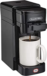 Proctor-Silex 49961 FlexBrew SingleServe Coffeemaker Ground & K-Cup pack Compatible