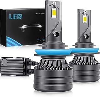 H11/H9/H8 LED Headlight Bulbs, 60W 28000Lumens Super Bright LED Headlights Conversion Kit 6000K Cool White IP68 Waterproof...